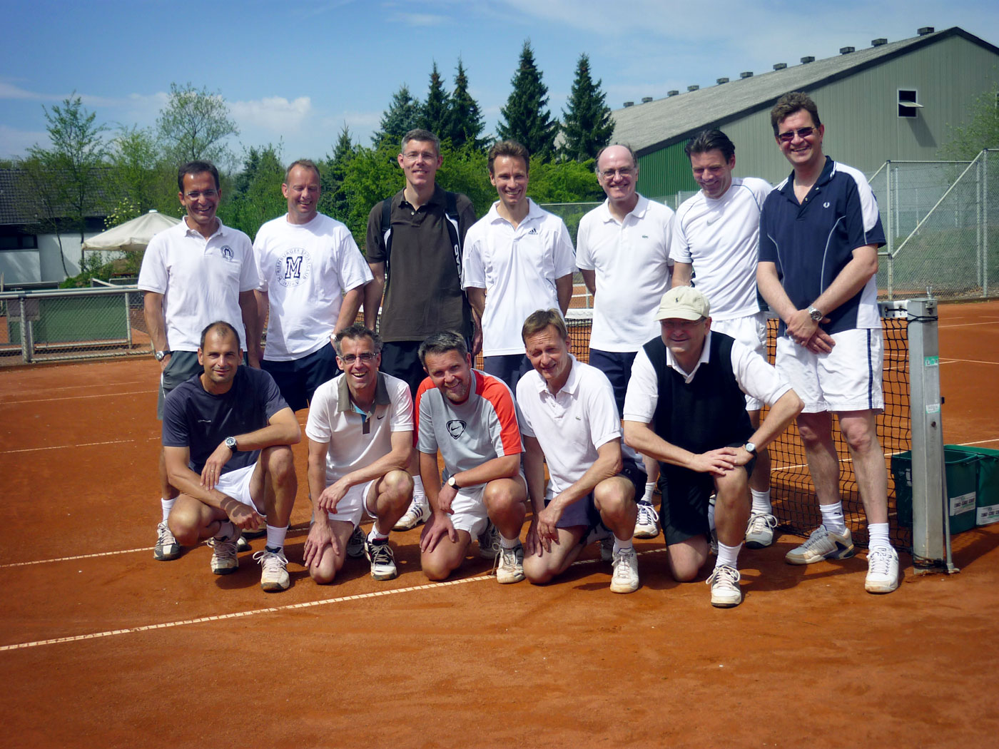 Workshop Doppel 2. & 3. Herren 40 mit Andy Schute