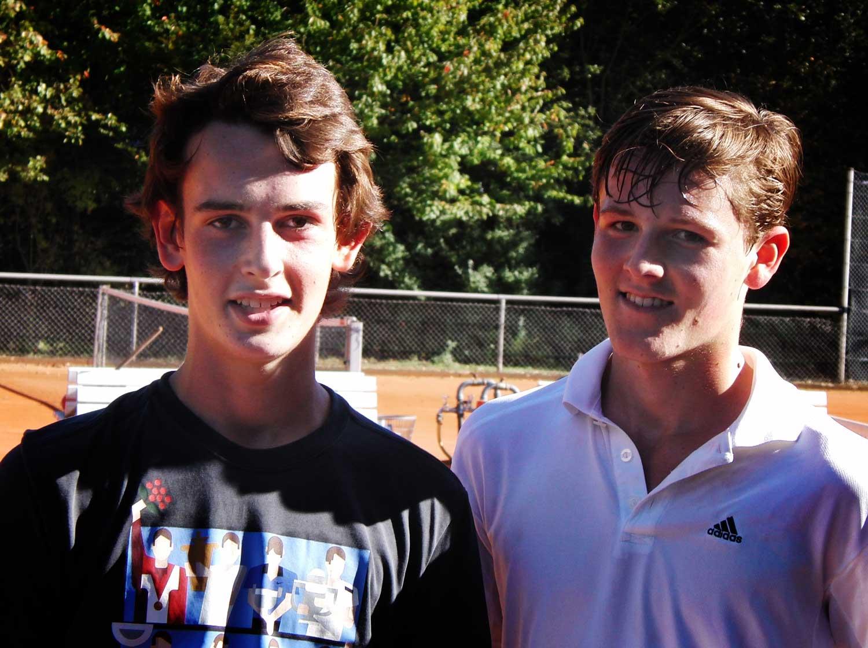 Ole Linne (links) und Marvin Linnartz (rechts)