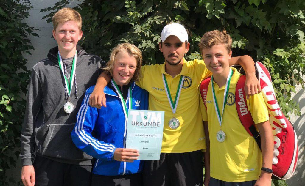 U18-Junioren werden zweiter im Verbandspokal