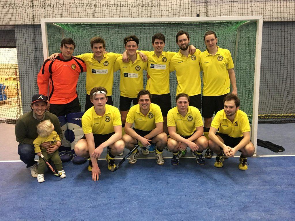 2. Hockeyherren steigen in die 1. Verbandsliga auf